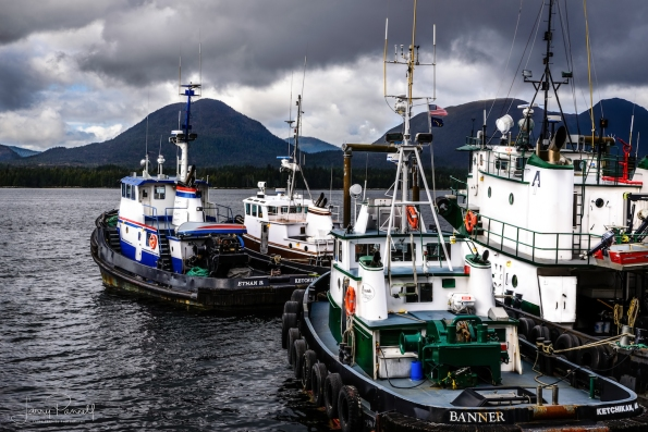 Ketchikan Fishing Boats copy