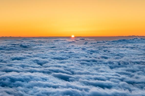 DSC 6543 volcano sunset